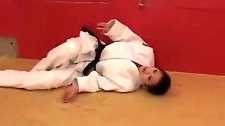 Judo Wrestling