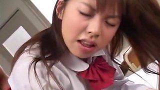 Hottest Japanese whore Mai Hagiwara in Incredible Cunnilingus, Foot Fetish JAV scene