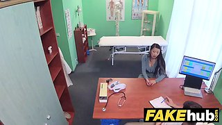fake hospital cock hungry oriental french chick gets fucked