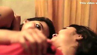 Beautiful india girls kissing