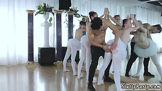 College party amateur hidden xxx Ballerinas