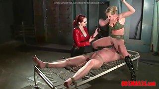 redhead dominates a servant