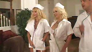 Horny Big Tit Nurse Drilled