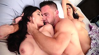 Bus sex first time Family Shares A Bed