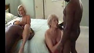 Mature Interracial Foursome Orgy