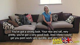 FakeAgentUK Hot British chick in hardcore casting