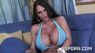 Gym milf fucking hard in this porn video, she want your cumshot