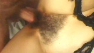 Gina Rome Had A Nice Hairy Pussy Fuck In Her Bedroom