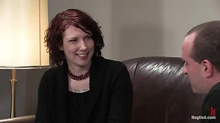 Nasty Carmen Stark gets dominated and toyed at a casting