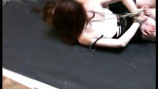 Sasha and Delilah bondage clip