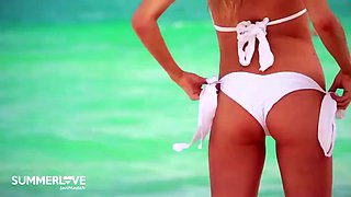 Charlotte mckinney summerlove swimwear wedding collection