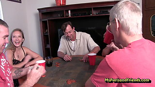 I'll Bet You Never Seen a Poker Party Like  This!