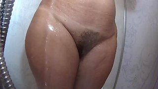 Spy wife shower 38