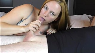 Horny Mom Drains Dick & Swallows Every Drop - Busty Camilla Loves Cum
