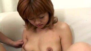 Horny Asian babe Ani wild toy insertion