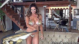 Petra V – Krazzy Golden Bikini
