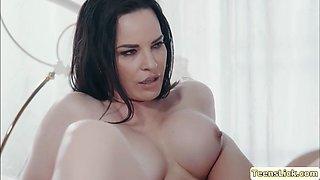 MILF Dana penetrates Sofis wet pussy