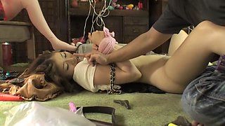 Horny Japanese slut in Fabulous HD, BDSM JAV scene