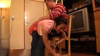 Lin First Spanking