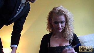 PASCALSSUBSLUTS - Anita Vixen fed cum after anal domination