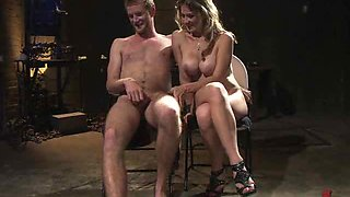 Torturing a Male Slave can be quite the Turn On