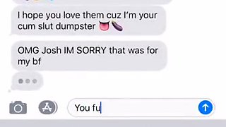 My sister accidentally sent me nudes(she's fucked the whole school)