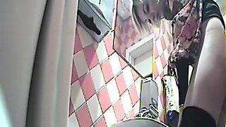 Toilet Peeing Captured