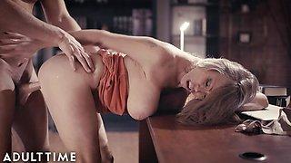 Naughty Busty Mature Darla's Intimate Moments w/ hung Boss