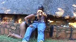 Real African Teen Tied Up and Punished