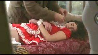 Chloroform knockout drugged girls