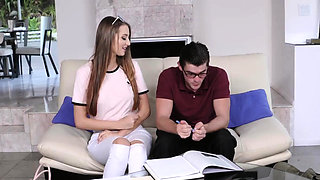 Teen bride and sex for promotion The Sibling Study And