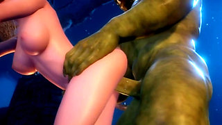 queen elf sex orc 3d