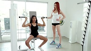 jayden cole and jenna foxx - Gym perks