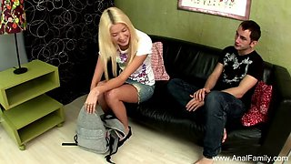 Step sister loves anal with brother