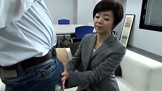 Slutty Japanese wife finds it hard to resist a hard dick