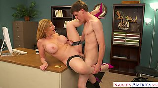 Sara Jay & Rion King in NaughtyOffice