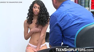 Ebony suspect jada doll detained by hung officer