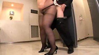 JUFD-336 Obscene Pleasure - You Feel In Pantyhose Wearing No Underwear