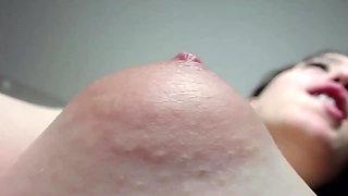 Puffy Nipple Closeup