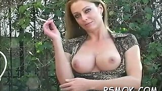 gorgeous provocative slut smoking hard 1