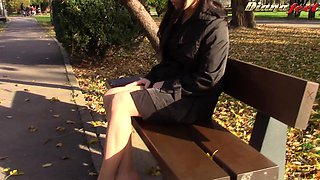 Breathtaking Diana has the sexiest legs and wants you to see them!