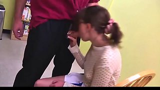 Father Punishes his Daughter
