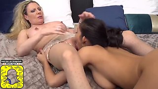 Taboo sex with nice moms and cute daughters