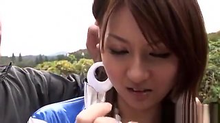 Gorgeous Asian Rides A Hard One-eyed Monster Passionately