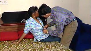Indian - Aunty gets fucked and licked