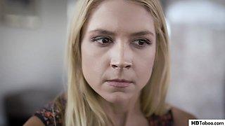 Pathetic step dad fucks his wife and step daughter in succession - Sarah Vandella, Elena Koshka