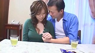 Exotic Japanese chick Milk Matsuzaka in Amazing Fingering, Cunnilingus JAV movie