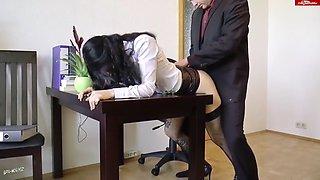 ivy lace - horny secretary