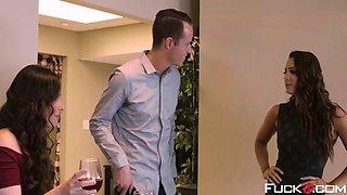 abigail mac, casey calvert in wedding belles scene 1