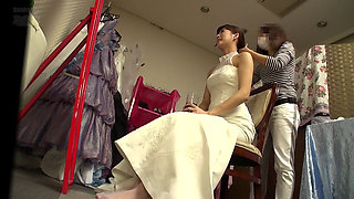 Japanese bride getting fucked hard